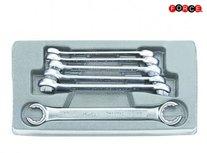 Set di chiavi ad anello aperto 6 pezzi