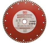 Dischi da taglio turbo diametro 230 mm