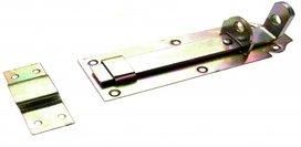 Serratura a bullone con cintura, 150 x 50 mm