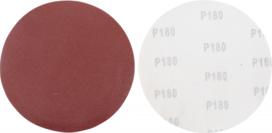 Set di dischi abrasivi per levigatrice  180 corindone 10 pz