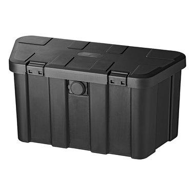 Cassetta di stivaggio timone in plastica 45L con serratura a combinazione