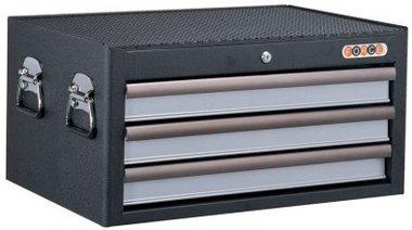 Cassetta degli attrezzi nero 3 cassettiera