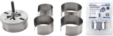 Set di seghe a 5 pezzi Set di seghe a tazza 60-95 mm Punte per fori