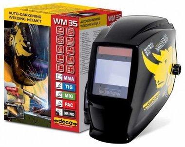 Casco per saldatura LCD DIN 9-13