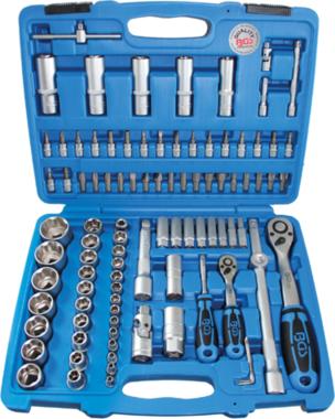 Set chiavi profilo ondulato 6,3 mm (1/4) / 12,5 mm (1/2) 94 pezzi