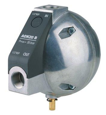 Scaricatore automatico di condensa a livello controllato