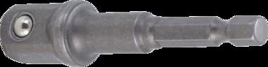Adattatore per trapano attacco esagono esterno 6,3 mm (1/4) / esagono interno 12,5 mm (1/2)
