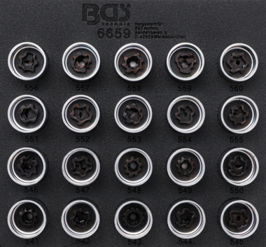 Set di utensili per bulloni di sicurezza per VAG 20 pz