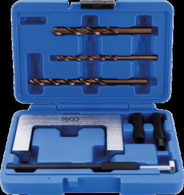 Serie di calibri per fori per viti di serraggio per sospensione a 4 bracci VAG 8 pz