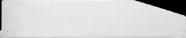 Separatore in plexiglas 567 x 120 mm