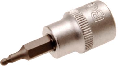 Chiave a bussola 10 mm (3/8) esagono interno con testa sferica