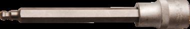 Chiave a bussola lunghezza 140 mm 12,5 mm (1/2) esagono interno con testa sferica