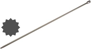 Chiave a bussola lunghezza 800 mm per Audi 12,5 mm (1/2) poligonale interno (per XZN)