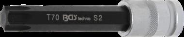 Chiave a bussola lunghezza 120 mm 12,5 mm (1/2) profilo a T (per Torx) T70