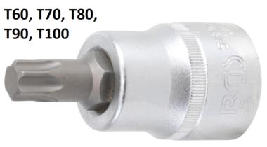Chiave a bussola 20 mm (3/4) profilo a T (per Torx)