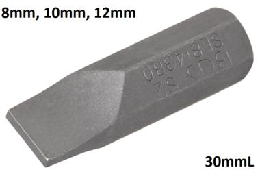 Inserto attacco esagono esterno 8mm (5/16) taglio