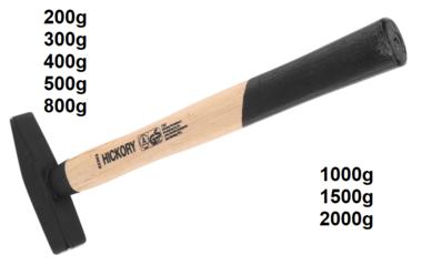 Martello per meccanica manico hickory DIN 1041