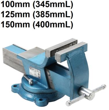 Morsa di serraggio in acciaio stampata ganasce da
