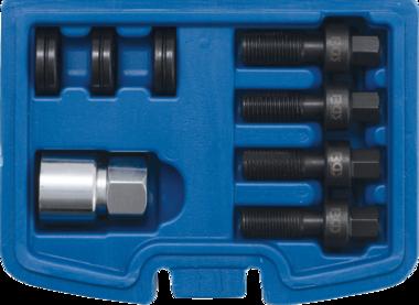 Kit di riparazione filettato per bulloni e dadi delle ruote M12 & M14 8-dlg