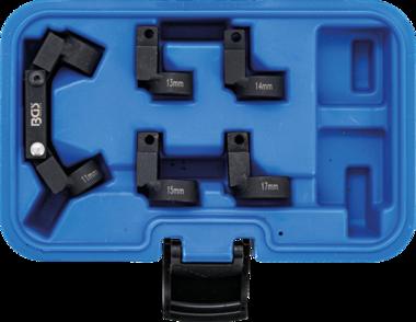 Set di chiavi per conduttori a tubo flessibile 5 tappi di cambio (3/8) 11 - 17mm