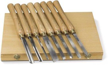 Set scalpello per legno 8-dlg