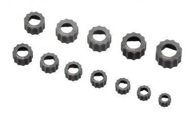 Set estrattore Damagenut/estrattore a bulloni 12 pezzi