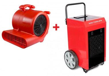 Set asciugatrice BD90P + ventilatore RV3000