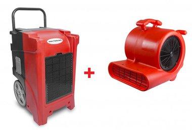 Kit essiccatore BDE90 + ventilatore RV3000