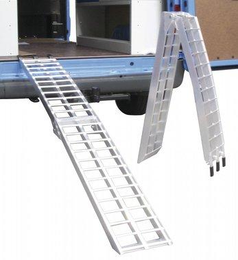 Impostare le rampe di tipo alu quad