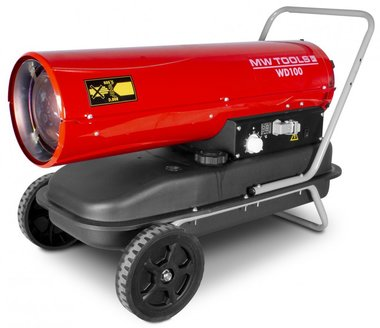 Soffiante ad aria calda diesel 30kw con telecomando