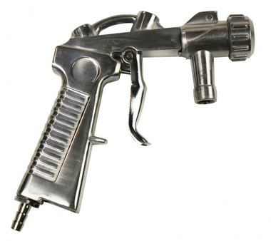 Pistola per cabine di sabbiatura