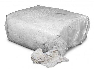 Pulizia stracci di cotone bianco 10kg