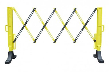 Recinto flessibile giallo/nero
