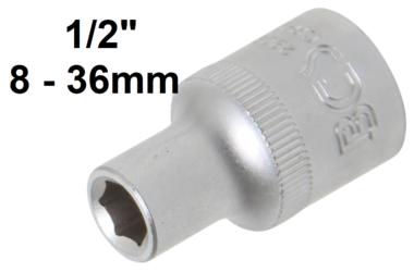 Bussola esagonale 12,5 mm (1/2)