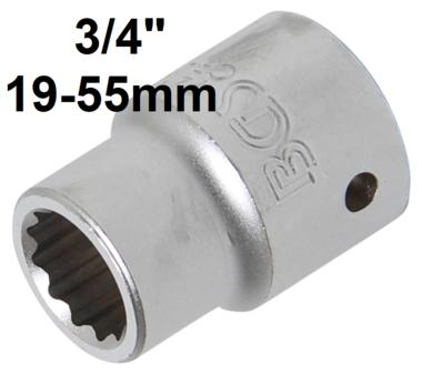 Bussola poligonale (3/4) 19-55mm