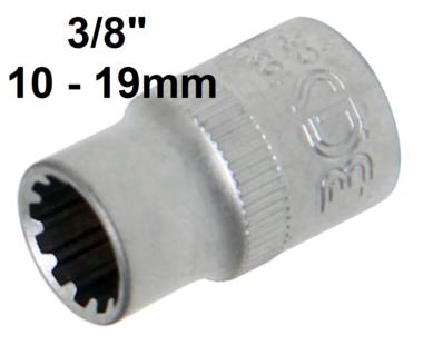 Bussola Gear Lock (3/8) 10-19mm