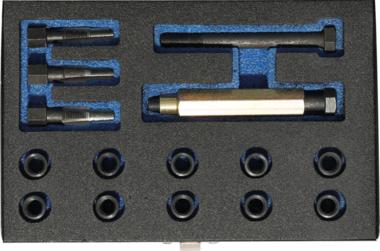Kit di riparazione per filetti sedi candelette M10 x 1,0