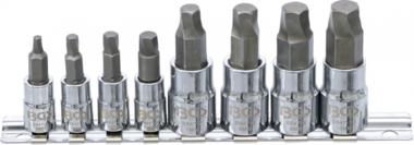 Set di azionamento a vite (1/4) / (3/8) per zoccolo esagonale difettoso 3 - 10mm 8-dlg
