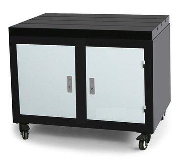 Piano di lavoro mobile da banco in ghisa 800x600x875mm