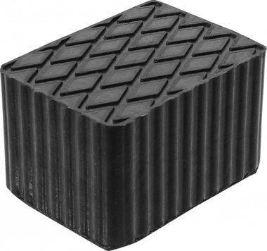 Tampone in gomma per piattaforme di sollevamento 160 x 120 x 100 mm