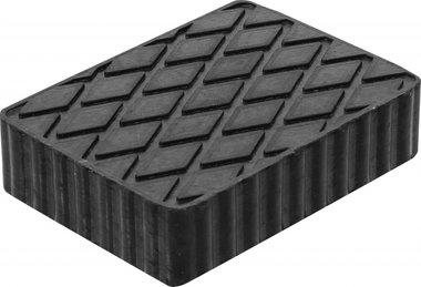 Tampone in gomma per piattaforme di sollevamento 160 x 120 x 40 mm