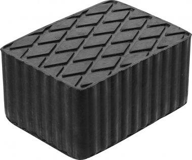 Tampone in gomma per piattaforme di sollevamento 160 x 120 x 80 mm
