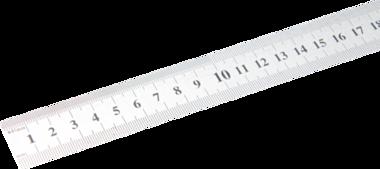 Nastro di misura in acciaio flessibile in acciaio inox 0,5 m