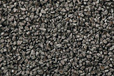 Graniglia di acciaio abrasivo per la pulizia a getto d'aria angolare 100 - 400µm 25kg