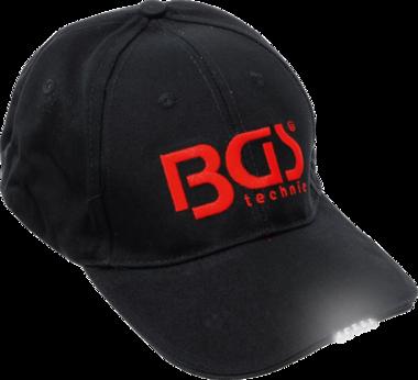 Cappellino da baseball BGS con illuminazione a LED