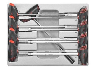 Set di chiavi a T con impugnatura a T SAE 9 parti Forza