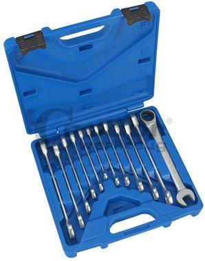 Set di chiavi in acciaio inox, 8-19, 12 dlg