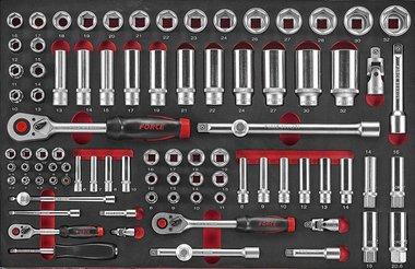 Set di combinazione di cappucci in schiuma 88 parti Force