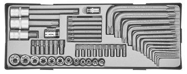Set combinato Torx 52 pezzi