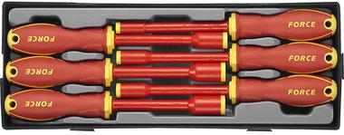 Set cacciavite a testa cilindrica Isolato 6 pezzi